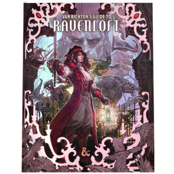 Dungeons & Dragons: Van Richten's Guide to Ravenloft (Fifth Edition) Alternate Cover