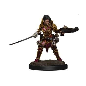 Pathfinder Battles: Premium Painted Figure - Half-Elf Swashbuckler Female