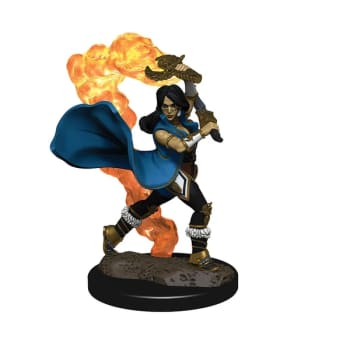 Pathfinder Battles: Premium Painted Figure - Human Cleric Female