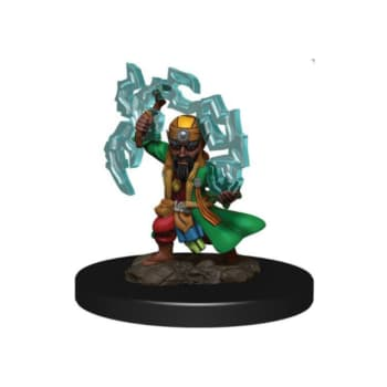 Pathfinder Battles: Premium Painted Figure - Gnome Sorcerer Male