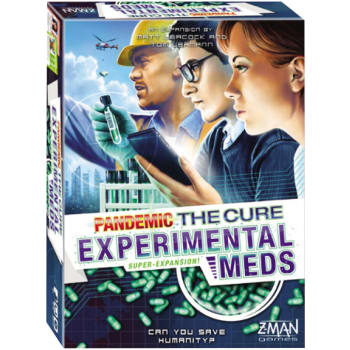 Pandemic: The Cure Dice Game - Experimental Meds Expansion