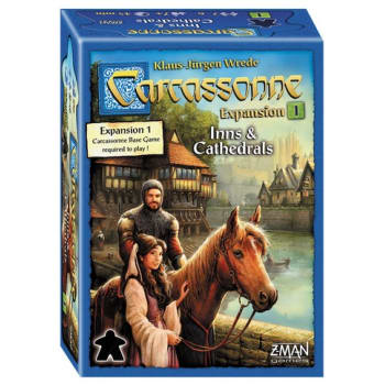 Carcassonne Expansion 1: Inns & Cathedrals (New Edition)