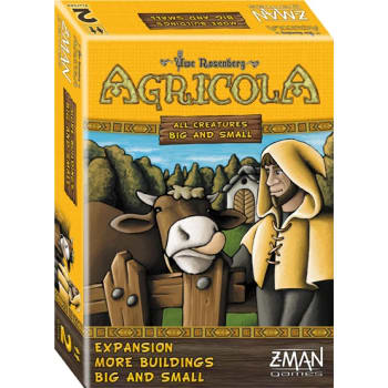 Agricola: All Creatures Big and Small: More Buildings Big and Small Expansion