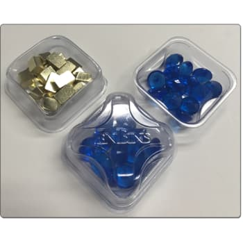 Zen Bins: 2-in-1 Token Trays 10-Pack (Clear)