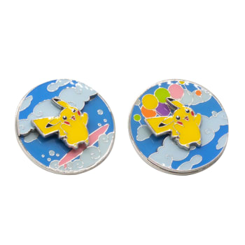 Pokemon - Flying/Surfing Pikachu Collector's Pin