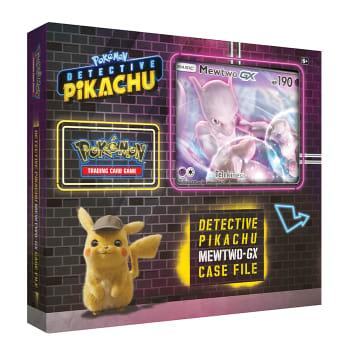 Pokemon - Detective Pikachu Mewtwo-GX Box