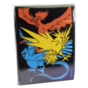 Pokemon - Hidden Fates Moltres & Zapdos & Articuno Sleeves - 65 Ct.