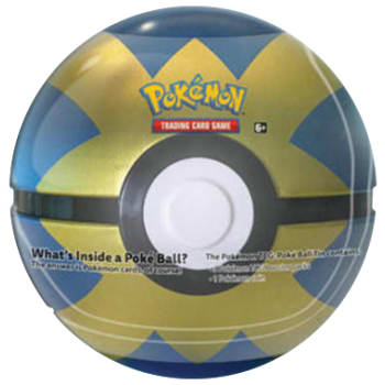Pokemon - Poke Ball Tin - Quick Ball