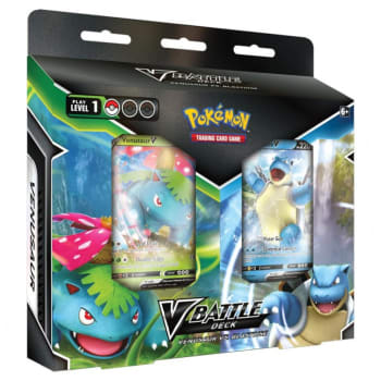 Pokemon - V Battle Decks: Venusaur V vs. Blastoise V Bundle