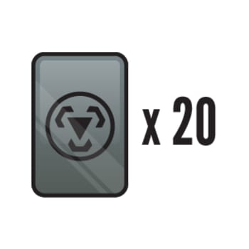 20 Assorted Metal Energy