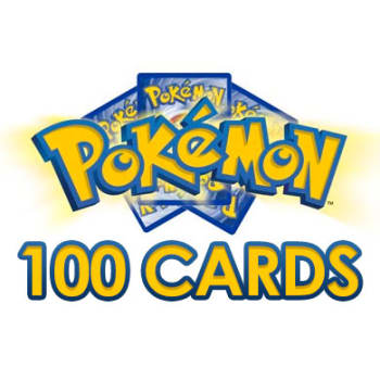 100 Assorted Pokemon Cards