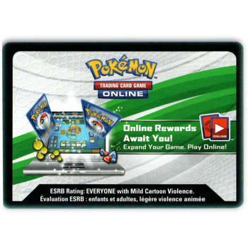 (25) Pokemon Online TCGO Dragon Majesty Code Card