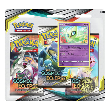 Pokemon - SM Cosmic Eclipse 3 Booster Blister - Celebi