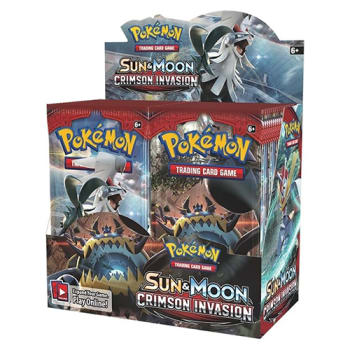 Pokemon - SM Crimson Invasion Booster Box