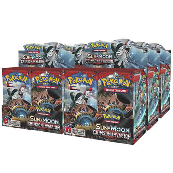 Pokemon - SM Crimson Invasion Booster Case