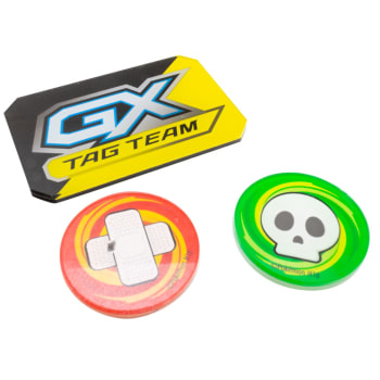 Pokemon - Condition and GX Tokens (Tag Team Yellow)