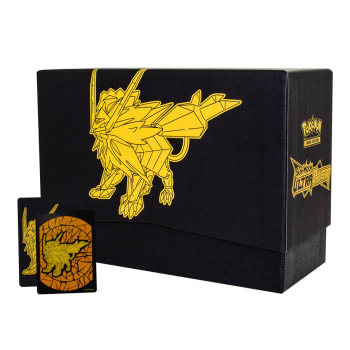 Pokemon - Empty SM Ultra Prism Dusk Mane Necrozma Elite Trainer Box w/ Dividers