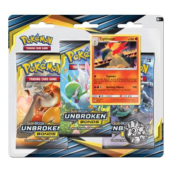 Pokemon - SM Unbroken Bonds 3 Booster Blister - Typhlosion