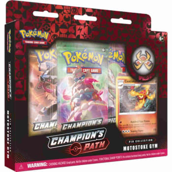 SWSH CHAMPION/'S PATH PROMO MOTOSTOKE GYM CENTISKORCH SWSH048 Pokemon TCG