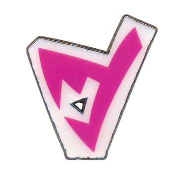 Pokemon - Spikemuth Gym Dark Badge Collector's Pin