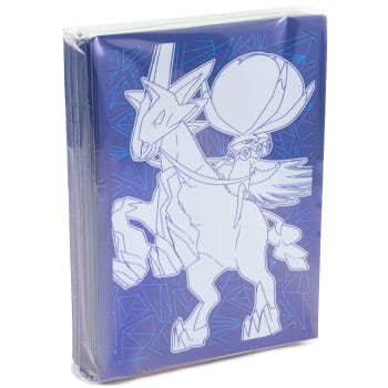 Pokemon - SWSH Chilling Reign Ice Rider Calyrex Sleeves - 65 Ct.