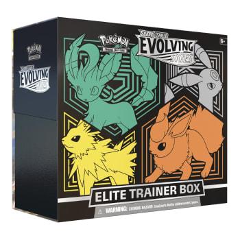 Pokemon - SWSH Evolving Skies Elite Trainer Box - Leafeon, Umbreon, Jolteon, Flareon