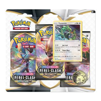 Pokemon - SWSH Rebel Clash 3 Booster Blister - Rayquaza