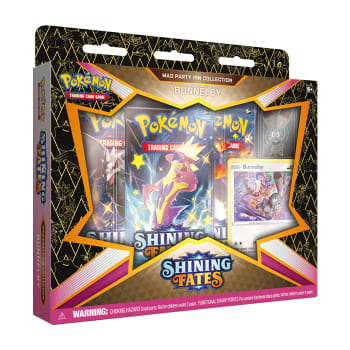 Pokemon - SWSH Shining Fates Mad Party Pin Collection - Bunnelby
