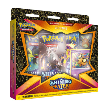 Pokemon - SWSH Shining Fates Mad Party Pin Collection - Dedenne