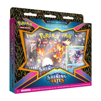 Pokemon - SWSH Shining Fates Mad Party Pin Collection - Galarian Mr. Rime