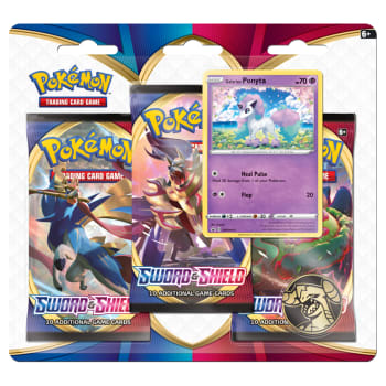 Pokemon - Sword and Shield 3 Booster Blister - Galarian Ponyta