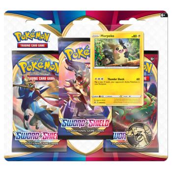 Pokemon - Sword and Shield 3 Booster Blister - Morpeko
