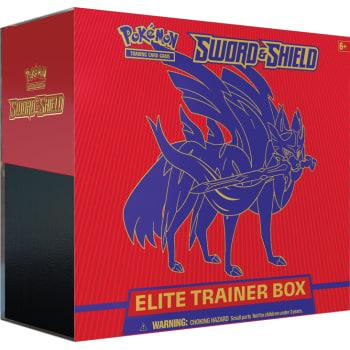 Pokemon - Sword and Shield Elite Trainer Box - Zacian