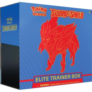 Pokemon - Sword and Shield Elite Trainer Box - Zamazenta