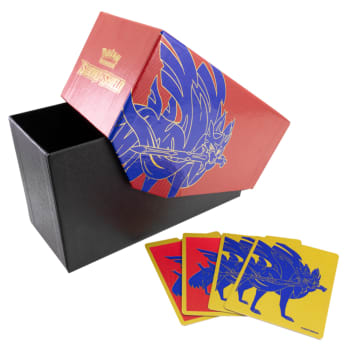 Pokemon - Empty Sword and Shield Zacian Elite Trainer Box w/ Dividers