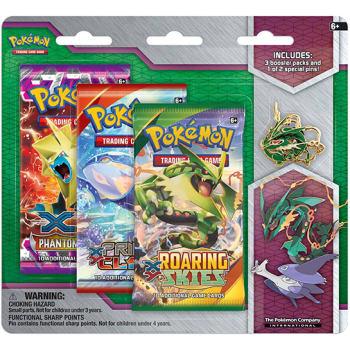 Pokemon - XY - Mega Evolution Collector Pin 3 Pack - Mega Rayquaza