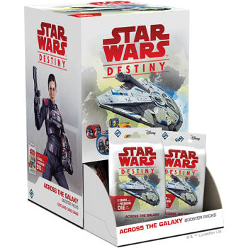 Star Wars Destiny: Across the Galaxy Booster Display