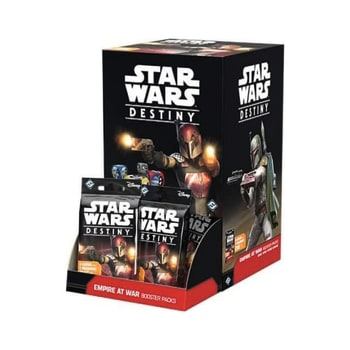 Star Wars Destiny: Empire At War Booster Display