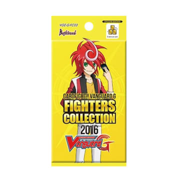 Cardfight!! Vanguard - Fighters Collection 2016 Booster Pack