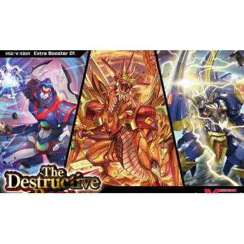 Cardfight!! Vanguard - The Destructive Roar Extra Booster Pack