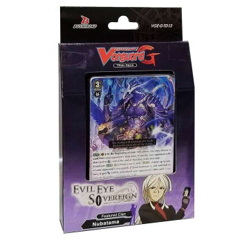 vanguard g deck  Cardfight!! Vanguard G - Trial Deck 13 - Evil Eye Sovereign