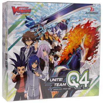 Cardfight!! Vanguard - Unite! Team Q4 V Booster Box