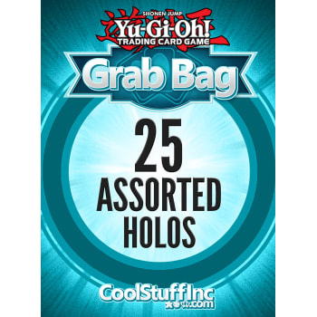 CoolStuffInc.com Holo YuGiOh Grab Bag - 25 Assorted Holo Cards!
