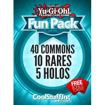 CoolStuffInc.com YuGiOh Fun Pack - 40 Commons, 10 Rares & 5 Holos!