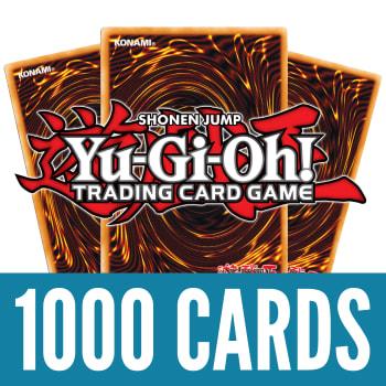 1000 Yu-Gi-Oh! Cards