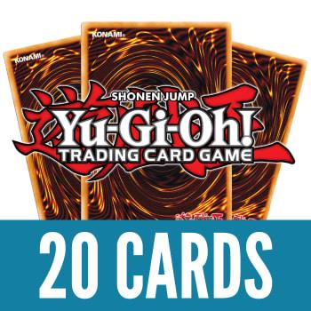 20 Yu-Gi-Oh! Rares