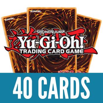40 Yu-Gi-Oh! Rares