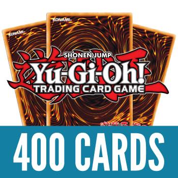 400 Yu-Gi-Oh! Cards