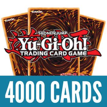 4000 Yu-Gi-Oh! Cards