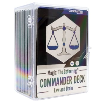 New Player Commander Deck - Law and Order